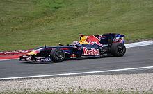 Webber at the 2009 German Grand Prix