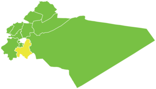 District in Rif Dimashq, Syria