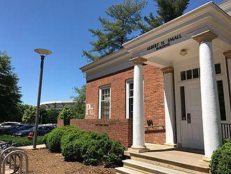 University of Virginia School of Engineering and Applied Science - Markings along Engineer's Way