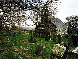 Old St. Runius, Marown - Image: Marown Old Church geograph.org.uk 3125