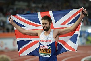 Martyn Rooney athletics competitor