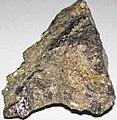 Massive Pt-Pd-rich sulfide (platinum-palladium ore) (Johns-Manville Reef, Stillwater Complex, Neoarchean, 2.71 Ga; Stillwater Mine, Beartooth Mountains, Montana, USA) 4.jpg