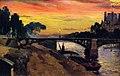Mathias J. Alten - Paris, view of the Seine, Night.jpg