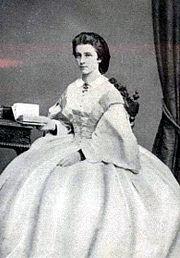 Az ifjú Matilda Ludovika bajor hercegnő