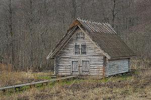 Kirikuküla, Lääne County - Image: Matsalu metsas