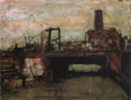 MatsumotoShunsuke Bridge in Y-city ca1946.png