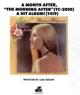 Maureen McGovern, The Morning After (1973)