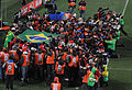 Media at Brazil & North Korea match at FIFA World Cup 2010-06-15 3.jpg