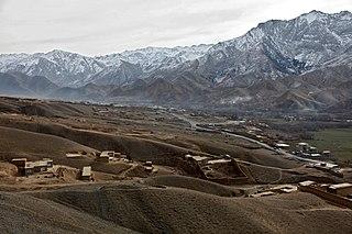 Anaba District District in Panjshir