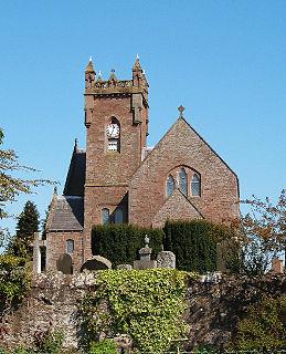 Meigle village in the United Kingdom