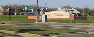 Scio Township, Michigan - Image: Meijer Shopping Center Scio Township