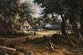 Meindert hobbema, strada del villaggio sotto gli alberi, 1663 ca. 02.jpg