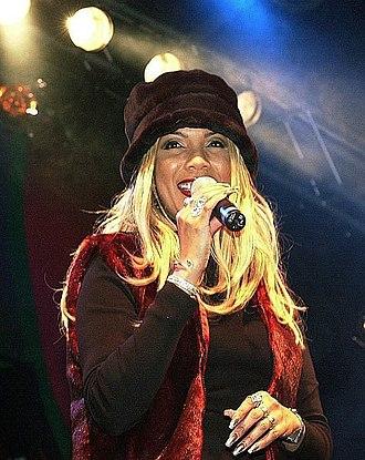 Melanie Thornton - Image: Melanie Thornton at Leipzig, Germany, November 2001