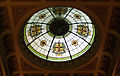 Melbourne Town Hall council chamber ceiling leadlight.jpg