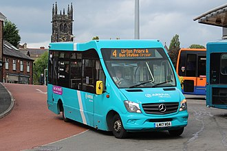 Mellor Strata - A Mellor Strata LF,  operated by Arriva North West