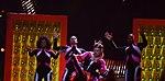Melodifestivalen 2019, deltävling 1, Scandinavium, Göteborg, programledarna, 27.jpg