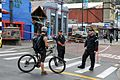 Member of Public Stopped at Cordon in Lyttelton - Flickr - NZ Defence Force.jpg