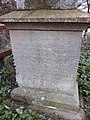 Memorial to Edgar George Wilson, Thames towpath, Oxford 01.jpg