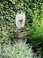 Memorial water feature, Village Gardens, Dunster - geograph.org.uk - 1702847.jpg