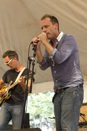 Memphis (band) - Memphis performing at the 2011 Hillside Festival