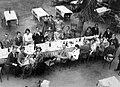 Men, women, drinking, meal Fortepan 12913.jpg