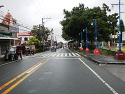 A segment of Mendez-Tagaytay Road