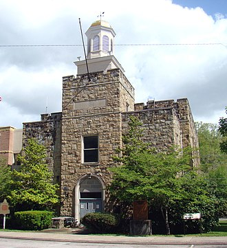 Frenchburg, Kentucky - Menifee County Courthouse