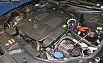 Mercedes-Benz CLS350 BlueEFFICIENCY engine room.jpg
