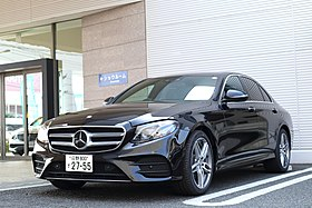 Mercedes-Benz E200 AVANTEGARDE Sports by Japan specification.jpg