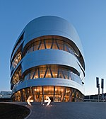 File:Mercedes-Benz Museum 201312 06 blue hour.jpg