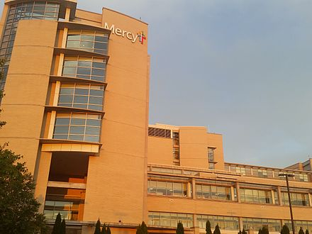 Mercy Hospital in Rogers, Arkansas Mercy Hospital NWA.jpg