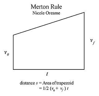 Mean speed theorem