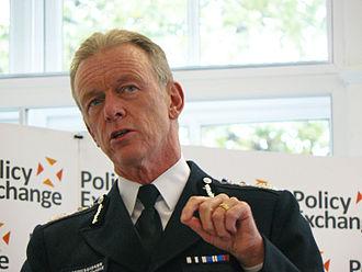 Bernard Hogan-Howe, Baron Hogan-Howe - Image: Met Commissioner Bernard Hogan Howe speaks at Policy Exchange on 'Total Policing' and reform priorities for Scotland Yard