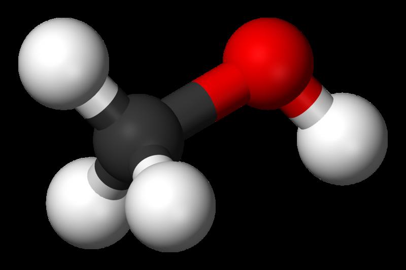 Modell av metanol