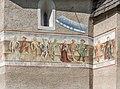 Metnitz Karner Totentanz-Fresken SO-Wand 09102020 9988.jpg