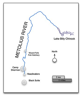 Metolius River - Wikipedia