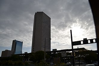 Government Center station (Miami) - Image: Miami Government Center from East