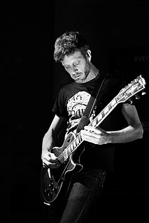 Michael Gallagher (guitarist) American guitarist (21st century)