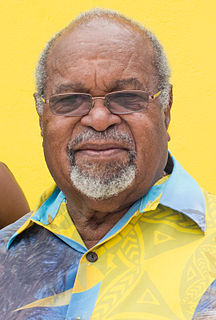 Michael Somare Papua New Guinean political figure, former prime minister