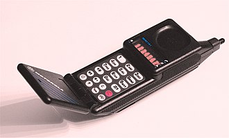Motorola MicroTAC - The MicroTAC 9800x phone from 1989 was the ETACS standard.