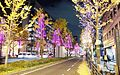 Mido-suji Illuminathion Area A in 201412 002.JPG