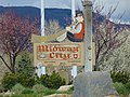 Midway City sign in Midway City Park on SR-113, Apr 16.jpg