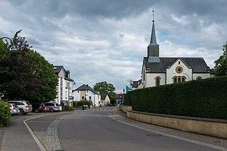 Gosseldange - Route de Mersch, Gosseldange