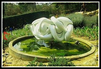Miguel Ortiz Berrocal - Almudena (1974), at Jardíns de Cap Roig