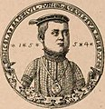 Mikałaj Radzivił Sirotka. Мікалай Радзівіл Сіротка (1554).jpg