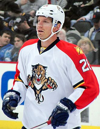 Mikael Samuelsson - With the Panthers in 2012