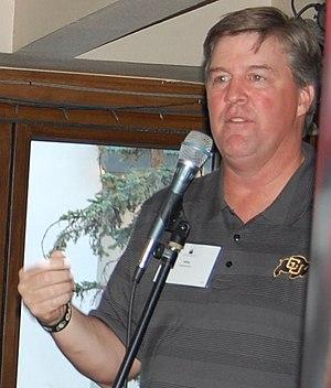 Mike MacIntyre - MacIntyre at a fundraiser in 2013.
