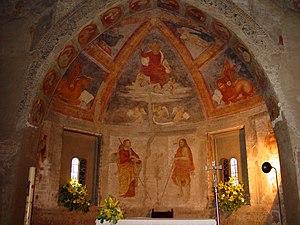 San Cristoforo sul Naviglio - The frescoed apse