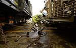 Military Vehicles loaded at Marchwood for Ex Shamal Storm MOD 45159735.jpg