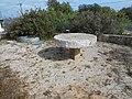 Millstone table next to Moinho Picota, Loulé, 7 February 2016 (2).JPG